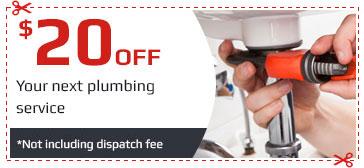Plumbing Offer